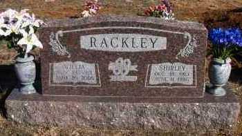 RACKLEY, WILLIA - Pope County, Arkansas | WILLIA RACKLEY - Arkansas Gravestone Photos
