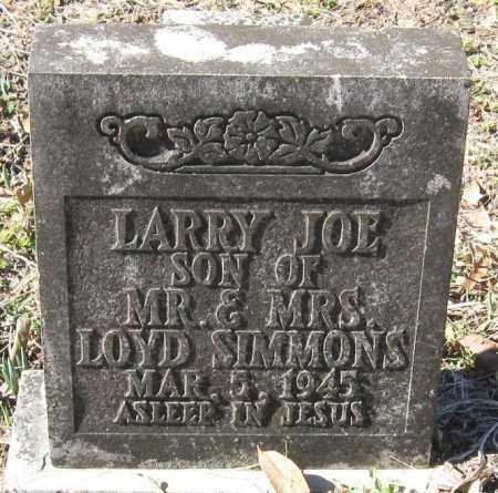 SIMMONS, LARRY JOE - Pope County, Arkansas | LARRY JOE SIMMONS - Arkansas Gravestone Photos