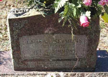 SIMMONS, LAURA L. - Pope County, Arkansas | LAURA L. SIMMONS - Arkansas Gravestone Photos