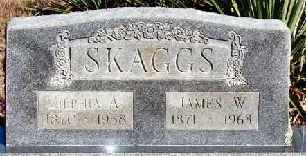 SKAGGS, JAMES W - Pope County, Arkansas | JAMES W SKAGGS - Arkansas Gravestone Photos