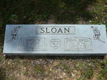 JEWELL SLOAN, EMMA - Pope County, Arkansas | EMMA JEWELL SLOAN - Arkansas Gravestone Photos