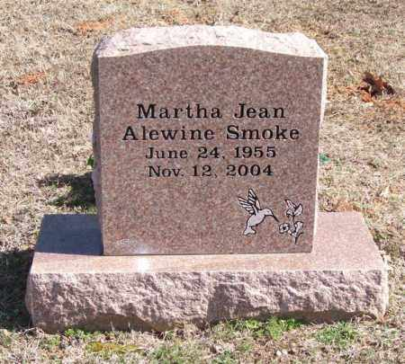 SMOKE, MARTHA JEAN - Pope County, Arkansas | MARTHA JEAN SMOKE - Arkansas Gravestone Photos