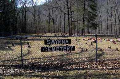 *SMYRNA CEMETERY OVERVIEW,  - Pope County, Arkansas |  *SMYRNA CEMETERY OVERVIEW - Arkansas Gravestone Photos