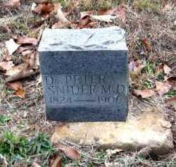 SNIDER, DR. PETER - Pope County, Arkansas   DR. PETER SNIDER - Arkansas Gravestone Photos