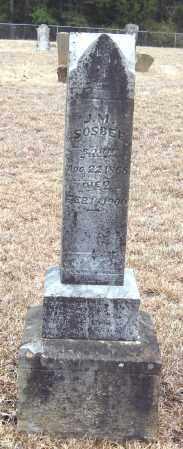 SOSBEE, J  M - Pope County, Arkansas   J  M SOSBEE - Arkansas Gravestone Photos