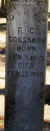 SOSSAMON, FANNIE CAROLINE - Pope County, Arkansas | FANNIE CAROLINE SOSSAMON - Arkansas Gravestone Photos