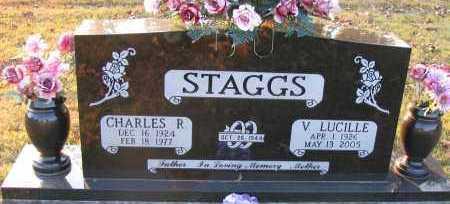STAGGS, V LUCILLE - Pope County, Arkansas | V LUCILLE STAGGS - Arkansas Gravestone Photos