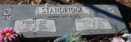 STANDRIDGE, MILDRED E - Pope County, Arkansas | MILDRED E STANDRIDGE - Arkansas Gravestone Photos