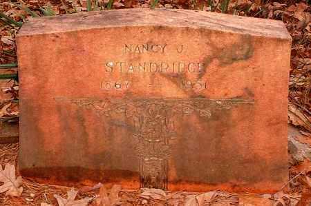 STANDRIDGE, NANCY J - Pope County, Arkansas | NANCY J STANDRIDGE - Arkansas Gravestone Photos