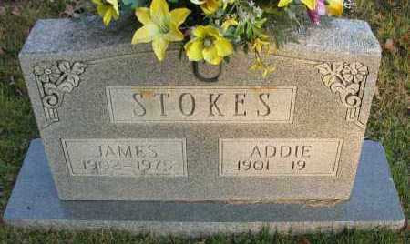 STOKES, ADDIE - Pope County, Arkansas | ADDIE STOKES - Arkansas Gravestone Photos