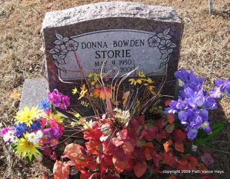 BOWDEN STORIE, DONNA - Pope County, Arkansas | DONNA BOWDEN STORIE - Arkansas Gravestone Photos