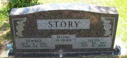 STORY, JEWELL - Pope County, Arkansas   JEWELL STORY - Arkansas Gravestone Photos