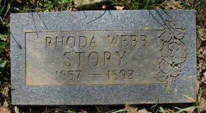 STORY, RHODA - Pope County, Arkansas   RHODA STORY - Arkansas Gravestone Photos