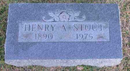 STOUT, HENRY A - Pope County, Arkansas | HENRY A STOUT - Arkansas Gravestone Photos