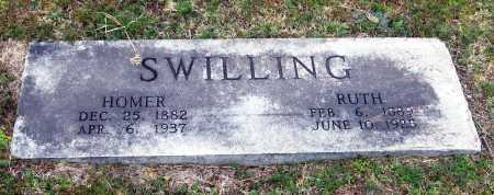SWILLING, HOMER - Pope County, Arkansas   HOMER SWILLING - Arkansas Gravestone Photos