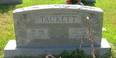 TACKETT, NETTER - Pope County, Arkansas   NETTER TACKETT - Arkansas Gravestone Photos