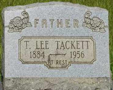 TACKETT, T  LEE - Pope County, Arkansas   T  LEE TACKETT - Arkansas Gravestone Photos