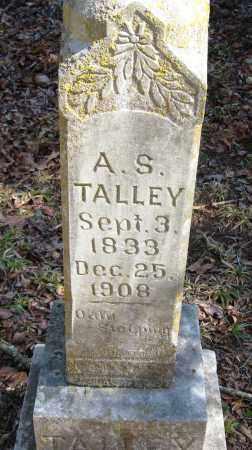 TALLEY, A  S - Pope County, Arkansas | A  S TALLEY - Arkansas Gravestone Photos