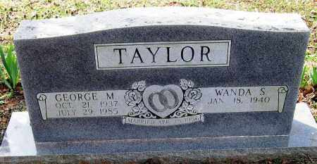 TAYLOR, GEORGE M - Pope County, Arkansas   GEORGE M TAYLOR - Arkansas Gravestone Photos