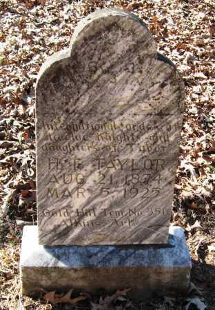 TAYLOR, H T - Pope County, Arkansas | H T TAYLOR - Arkansas Gravestone Photos
