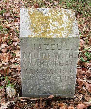 TEAL, HAZEL L - Pope County, Arkansas | HAZEL L TEAL - Arkansas Gravestone Photos