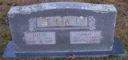 TEAL, ODUS - Pope County, Arkansas | ODUS TEAL - Arkansas Gravestone Photos