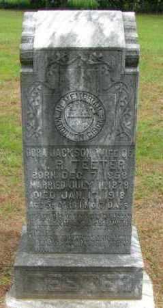 TEETER, DORA - Pope County, Arkansas   DORA TEETER - Arkansas Gravestone Photos