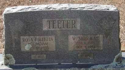 TEETER, W  SHERMAN - Pope County, Arkansas | W  SHERMAN TEETER - Arkansas Gravestone Photos