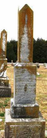 TEETER, SARAH A - Pope County, Arkansas | SARAH A TEETER - Arkansas Gravestone Photos