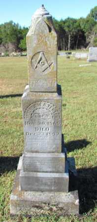TEETER, WILLIAM A - Pope County, Arkansas | WILLIAM A TEETER - Arkansas Gravestone Photos