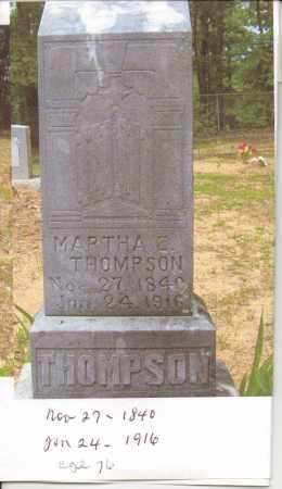 THOMPSON, MARTHA E. - Pope County, Arkansas | MARTHA E. THOMPSON - Arkansas Gravestone Photos