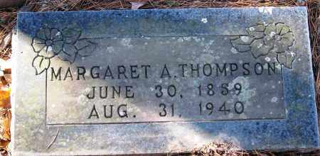 THOMPSON, MARGARET A - Pope County, Arkansas | MARGARET A THOMPSON - Arkansas Gravestone Photos