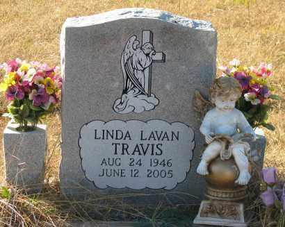 TRAVIS, LINDA LAVAN - Pope County, Arkansas   LINDA LAVAN TRAVIS - Arkansas Gravestone Photos
