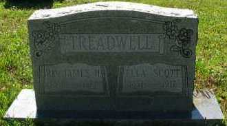 SCOTT TREADWELL, ELLA - Pope County, Arkansas | ELLA SCOTT TREADWELL - Arkansas Gravestone Photos