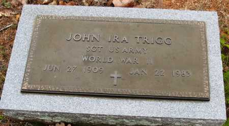 TRIGG  (VETERAN WWII), JOHN IRA - Pope County, Arkansas | JOHN IRA TRIGG  (VETERAN WWII) - Arkansas Gravestone Photos