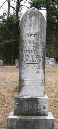 HAMILTON TURNBOW, ORETHA - Pope County, Arkansas | ORETHA HAMILTON TURNBOW - Arkansas Gravestone Photos