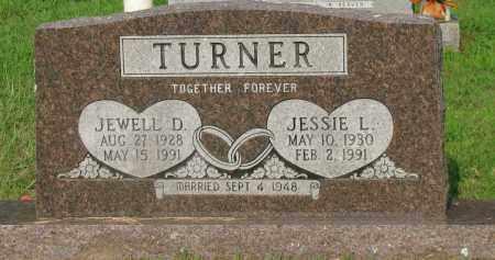 TURNER, JEWELL D - Pope County, Arkansas | JEWELL D TURNER - Arkansas Gravestone Photos