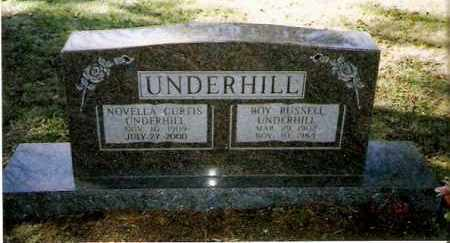 UNDERHILL, ROY RUSSELL - Pope County, Arkansas | ROY RUSSELL UNDERHILL - Arkansas Gravestone Photos