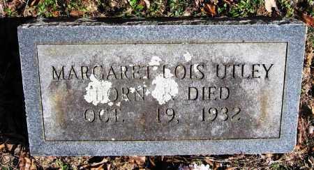 UTLEY, MARGARET LOIS - Pope County, Arkansas | MARGARET LOIS UTLEY - Arkansas Gravestone Photos