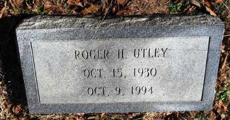 UTLEY, ROGER H - Pope County, Arkansas | ROGER H UTLEY - Arkansas Gravestone Photos