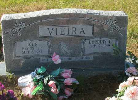 VIEIRA, JOHN - Pope County, Arkansas   JOHN VIEIRA - Arkansas Gravestone Photos