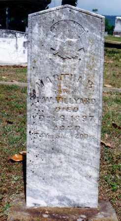 VILLYARD, MARTHA B. - Pope County, Arkansas | MARTHA B. VILLYARD - Arkansas Gravestone Photos