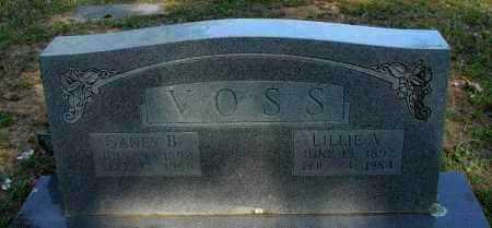 VOSS, GANEY B - Pope County, Arkansas | GANEY B VOSS - Arkansas Gravestone Photos