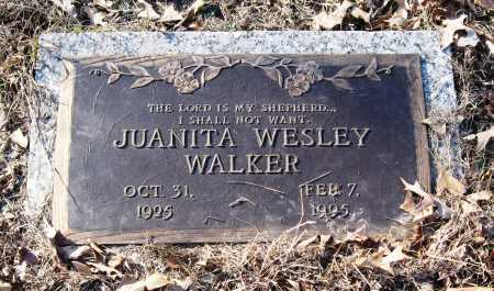 WALKER, JUANITA - Pope County, Arkansas | JUANITA WALKER - Arkansas Gravestone Photos