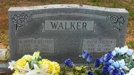 WALKER, DAVID ARTHUR - Pope County, Arkansas | DAVID ARTHUR WALKER - Arkansas Gravestone Photos