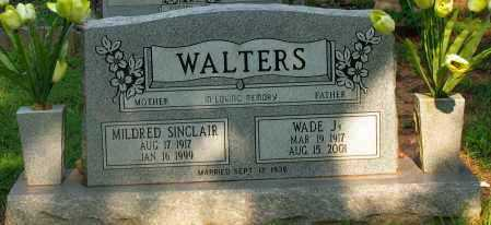 WALTERS, MILDRED SINCLAIR - Pope County, Arkansas | MILDRED SINCLAIR WALTERS - Arkansas Gravestone Photos