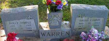 WARREN, DOLLY DIMPLE - Pope County, Arkansas | DOLLY DIMPLE WARREN - Arkansas Gravestone Photos