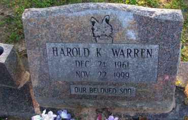 WARREN, HAROLD K - Pope County, Arkansas   HAROLD K WARREN - Arkansas Gravestone Photos