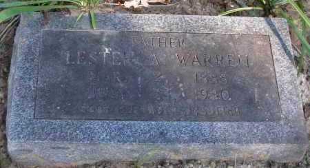 WARREN, LESTER A - Pope County, Arkansas   LESTER A WARREN - Arkansas Gravestone Photos