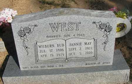 WEST, FANNIE MAY - Pope County, Arkansas | FANNIE MAY WEST - Arkansas Gravestone Photos
